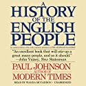 A History of the English People (       UNABRIDGED) by Paul Johnson Narrated by Wanda McCaddon
