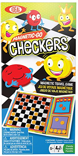 Ideal Magnetic Go! Checkers