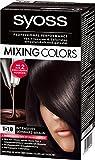 2x Syoss Chocolat Couleurs mélange brun foncé mix, parfaite couverture des cheveux blancs 1-18