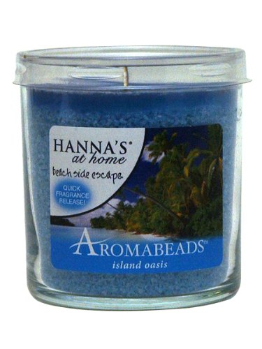 Hanna's At Home AROMABEADS Island Oasis 5.5oz Candle