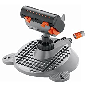 Gardena 8125 Minizoom Small Area Fully Adjustable Oscillating Sprinkler