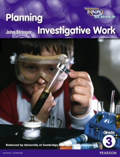 Heinemann Explore Science Reader G3 Planning Investigative Work (Primary Explore Science)