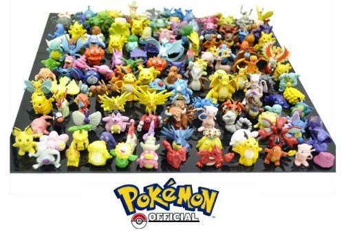 Pokémon Pokemon Pearl Advent calendar Christmas Minifigure 2-3 cm big (24 pcs) thematys