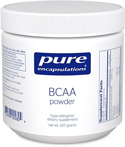 Pure Encapsulations - BCAA Powder - Hypoallergenic Supplement To Support Muscle Function During Exercise* - 227 Grams (Organic Bcaa compare prices)