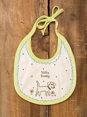 Little Buddy Baby Bib By Natural Life - 1