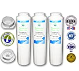 3 Pack - OnePurify Water Filter to Replace Maytag, Amana, Kenmore, Jenn-Air, Whirlpool, Kitchenaid, UKF8001, UKF8001AXX, UKF-8001P, UKF9001, UKF9001AXX, 469006, 469992, 9005, 9006, 469030, 12527304, 4396395, WF295, WF50, SGF-M10