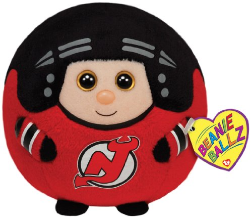 Ty Beanie Ballz New Jersey Devils Plush, Nhl