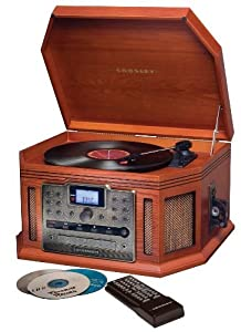 Crosley CR248 Songwriter CD Recorder - Paprika (Discontinued by Manufacturer)