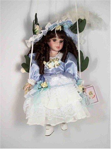Victorian Swing Doll, Lavender and White Dress - Buy Victorian Swing Doll, Lavender and White Dress - Purchase Victorian Swing Doll, Lavender and White Dress (Kinnex, Toys & Games,Categories,Dolls,Porcelain Dolls)