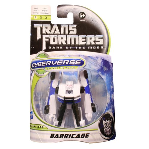 "Transformers 3 DOTM Cyberverse Decepticon ""Barricade"" günstig kaufen"