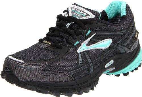 Brooks Women's Adrenaline Gtx W Turquoise/Black/Shadow/Silver Trainer 1200961B307 5.5 UK, 7.5 US