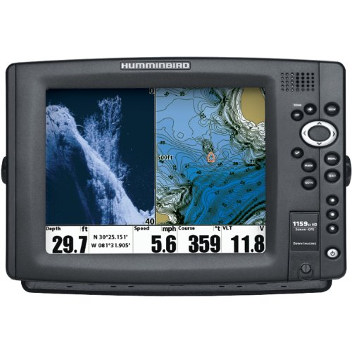 Humminbird 1159ci hd di combo fish finder system 409220 1 for How to read a humminbird fish finder