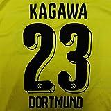 ≪代引可≫子供用 K017 ボルシア ドルトムント KAGAWA*23 香川 黄 16 ゲームシャツ パンツ付
