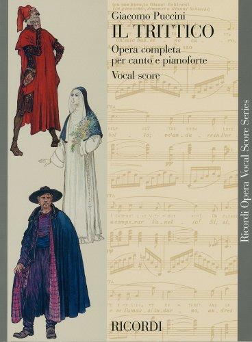プッチーニ : オペラ三部作「外套」「修道女アンジェリカ」「ジャンニ・スキッキ」/リコルディ社ピアノ・ヴォーカル・スコア
