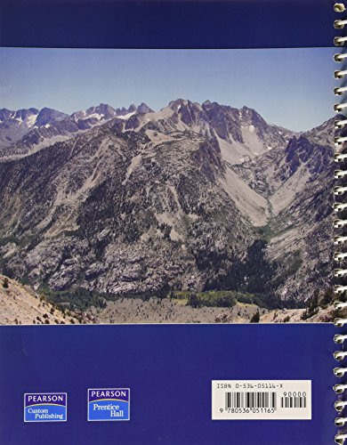 Laboratory Manual in Physical Geology by Richard M. Busch, Editior (2009) Spiral-bound