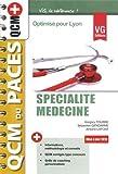 Spécialité médecine : Optimisé pour Lyon