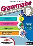 Cahier interactif de Grammaire 6e - Version bimédia
