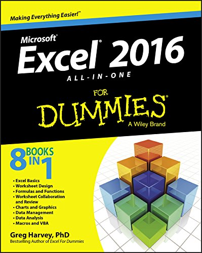 Download Excel 2016 All-in-One For Dummies