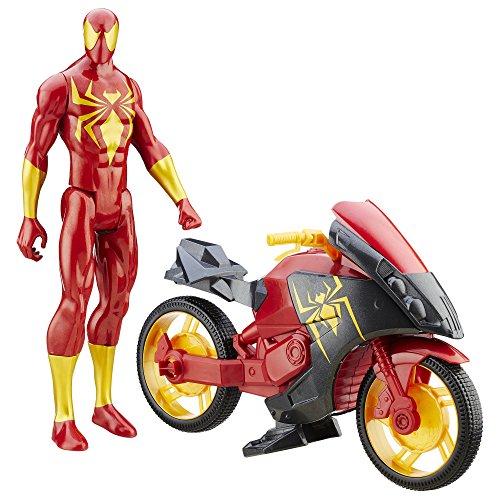 Spider-Man Iron Spider Cycle Vehicle 2