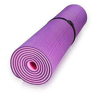 diMio Yogamatte Dragon (TPE) für Fortgeschrittene inkl. Tasche, für Yoga Pilates Fitness