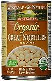 Westbrae Vegetarian Organic Great Northern Beans - 15 oz