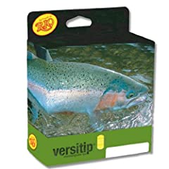 RIO 15ft VersiTip Fly Line Weight Forward Floating with 4 Tip Options Kit by Rio Brands