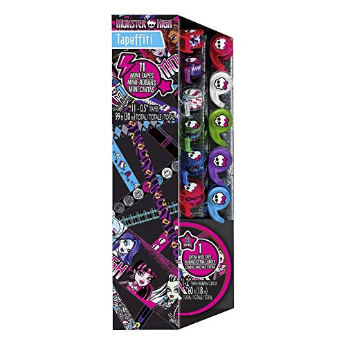 Monster High Tapefitti 11 mini-tapes - 1