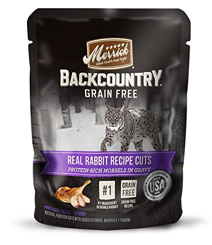 Merrick Backcountry Real Rabbit Recipe Cuts