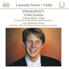 Violin Recital: Andrey Bielov