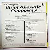 Walt Disney presents Great Operatic Composers (2 LP Set)