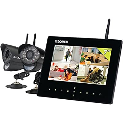 Lorex LIVE SD7+ Wireless Video Monitoring System with 9-Inch LCD SD Recording Monitor
