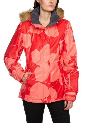 Roxy Jet Ski Zipped Women's Jacket Abstrac Flower Sut Small