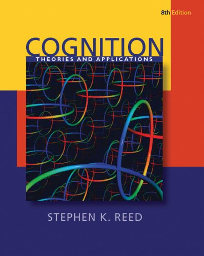 Cognition: Theories and Applications (PSY 384 Cognitive...