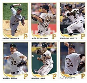 2013 Topps Baseball Pittsburgh Pirates Complete Team Set ( 22 cards) A.J. Burnett,... by Topps