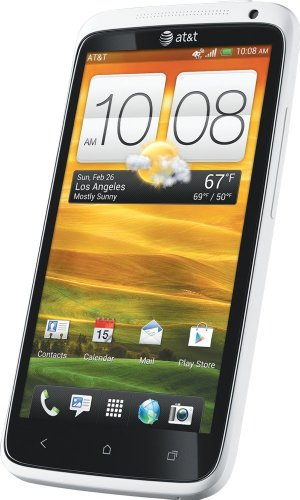 Htc One X Unlocked At&T World Phone - 16Gb Memory - Dual Core Processor - No Contract (White)