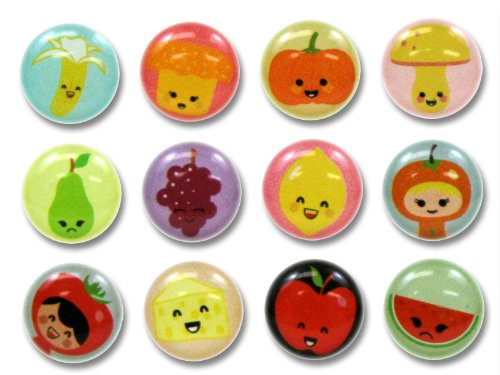 Fruit And Vegetable Stickers