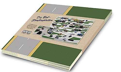 BUB-Strassenplatten-25-Stck-Modellauto-Hardcover-Bub-187