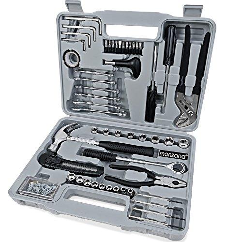 141-tlg-Werkzeugkoffer-Werkzeugset-Werkzeug-Werkzeugkasten-Werkzeugkiste-Knarre