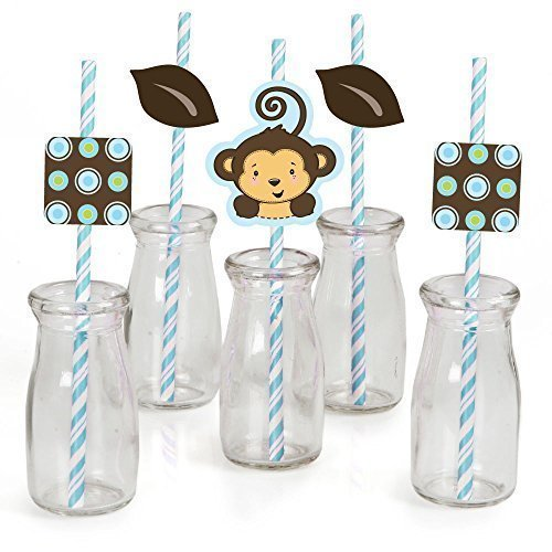 monkey boy baby shower party supplies baby shower mania