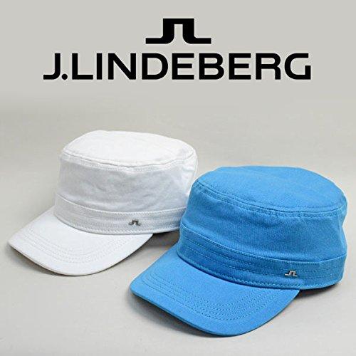 (J.リンドバーグ) J.LINDEBERG ワークキャップ帽子 073-58205 95(水色)