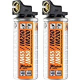 Advanced Paslode Impulse Mini Gas Fuel Cell (Pack of 2) for IM65, IM65A, IM50, IM200 Nail Guns & IM200 Staple Guns (Eco Packaging) w/Extended Warranty