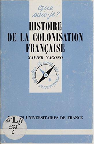 Histoire de la colonisation française