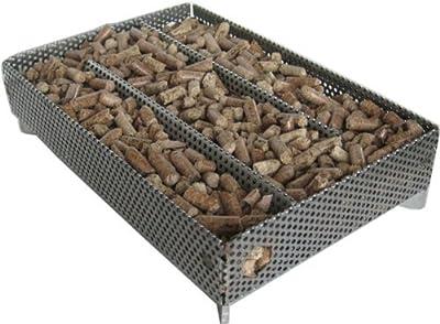 A-Maze-n Pellet Smoker 5x8 with Hickory BBQ Pellets, 1 lb.