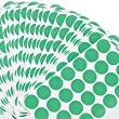 Universal� Permanent Self-Adhesive Color-Coding Labels, 3/4in dia, Green, 1008 per Pack