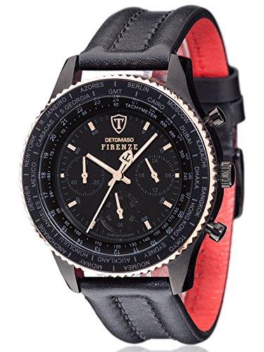montre-hommes-detomaso-quartz-affichage-chronographe-bracelet-cuir-noir-et-cadran-noir-sl1624c-br