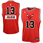 Joakim Noah Chicago Bulls #13 NBA Youth X-Mas Day Jersey Red (Youth Small 8)