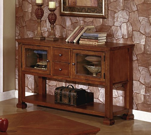 Cheap Legends Cambridge TV Console – Sofa Table (Chestnut) (32″H x 52″W x 18″D) (ZG-C4300.CHN)