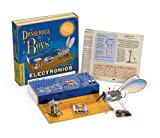"Science Experiment Kit - Dangerous Book: Essential Electronics. Based on the bestselling children's book The Dangerous Book for Boys, the Essential Electronics Kit allows you to learn about electric current and electrons! Conduct hair-raising experiments with static electricity, and read a brief history of the research and discoveries associated with electricity and electronics. Investigate materials to see if they are conductors or insulators. Assemble series circuits and parallel circuits, and discover the relationships between voltage, current, and power. Experiment with resistors, capacitors, diodes, and LEDs! Investigate logical circuits and transistors. Build an electromagnet, an electric motor, a voltaic pile, a joy buzzer, and a vibrating bug! Learn about how some common electronic devices work, such as cell phones, computers, satellites, and televisions. Parents and grandparents will appreciate this nostalgic kit, updated for today's children! The full-color, 32-page manual guides your experiments. One (1) 9-Volt battery required (not included). For ages 8 and up. Materials: Metal, Cardboard, Rubber, Magnet, Wood, Zinc, Brass, Wire, Polystyrene. Dimensions: 10.5"" L x 2.4"" W x 10.5"" H; - Packaged; 1.5 lbs"