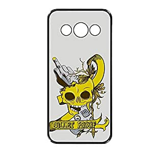 Vibhar printed case back cover for Samsung Galaxy J1 BulletProof