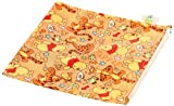 Bumkins Disney Baby Single Reusable Snack Bag, Pooh Bear Woods, Large